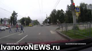 ДТП у 7 й горбольницы в Иванове