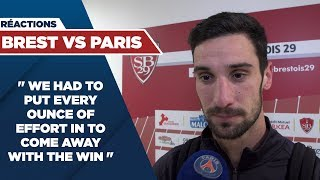 VIDEO: POST GAME INTERVIEW : BREST vs PARIS SAINT-GERMAIN