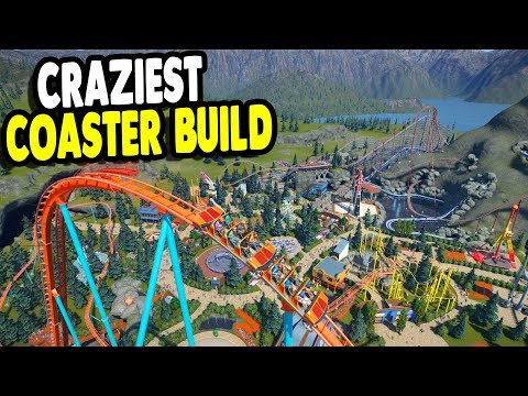 New Building Projects in the Best Park on Earth | Planet Coaster Gameplay