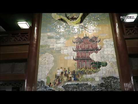 Inside Yellow Crane Tower Wuhan City China