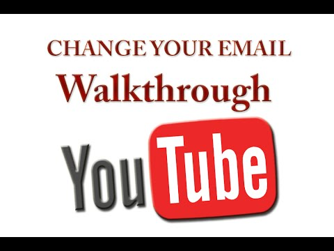 Change Your YouTube Email Address - FINALLY!!!!!!!   Full Walk-through 1