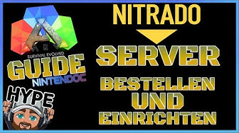 """ARK GUIDE 😜 Nitrado Server """"einfach"""" bestellen, einrichten und verwenden"""