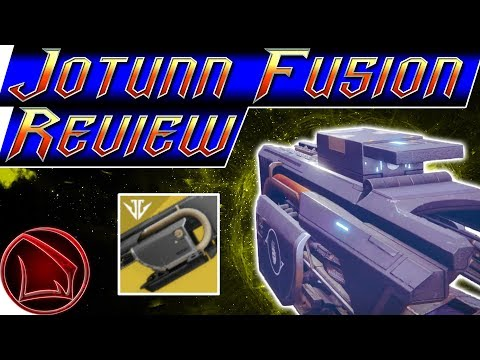 Destiny 2: Jotunn How To Get & Use Review – Black Armory Exotic Fusion Rifle PvP Gameplay thumbnail