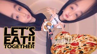 피자 두판 순삭?  Pizza Mukbang