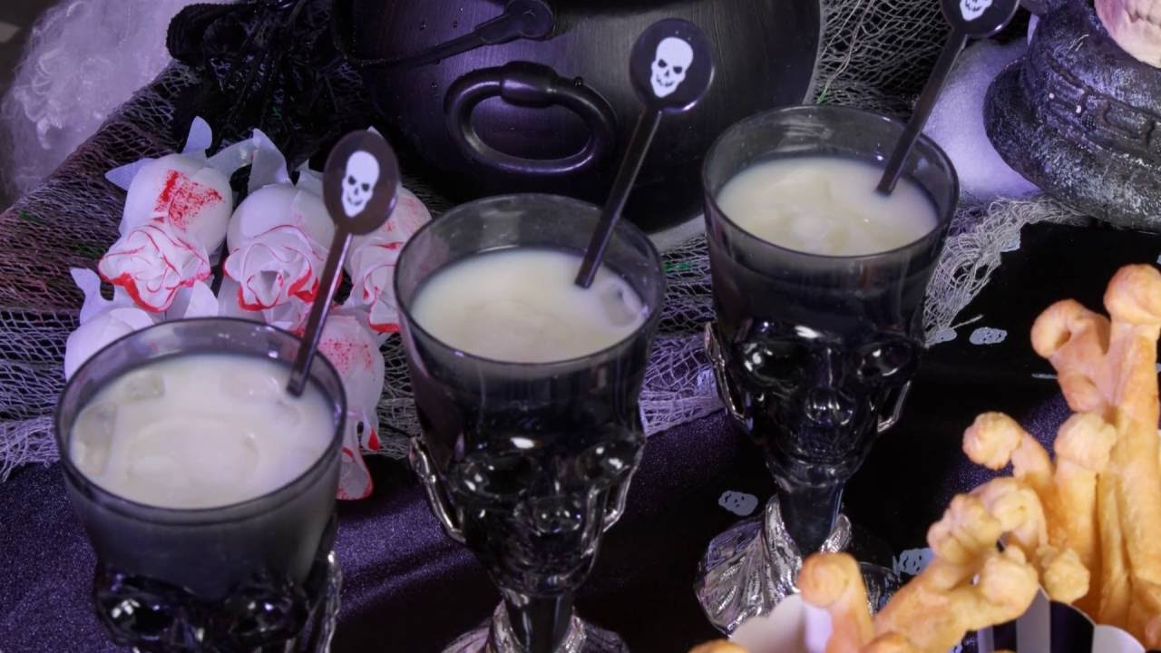 recette cocktail pina colada soir e halloween youtube. Black Bedroom Furniture Sets. Home Design Ideas