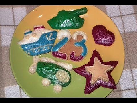 Фигурное печенье   на 8 марта или 14 февраля , 23 февраля,  и 9 мая