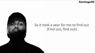 The Weeknd - Lost In The Fire (Lyrics)