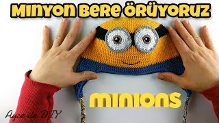 Minyon (Minion) Bere Yapımı - Minion Hat Crochet Pattern