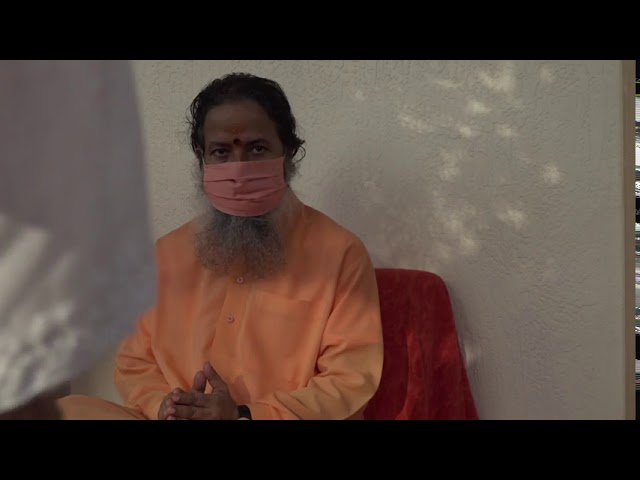 Darshan with Guruji at Kriya Yoga Institute Foundation Day  2020