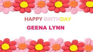 GeenaLynn   Birthday Postcards & Postales - Happy Birthday