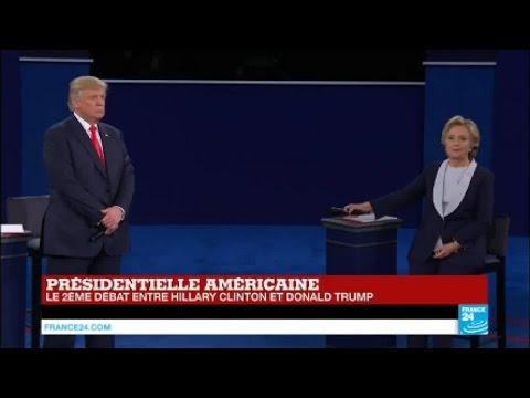 """Débat US : Trump et Clinton s'écharpent sur l'affaire des e-mails """"vous mériteriez la prison"""""""