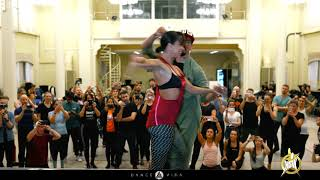 Adrian and Anita Salsa lines style workshop | HSW 2019 | by Dance Vida