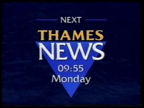 Thames - LWT - Continuity - Adverts - 27-12-1991