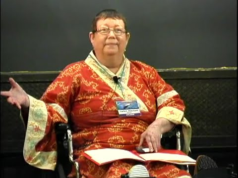 Carla Rueckert at the 2010 Earth Transformation Conference - Harvest and The Law of One