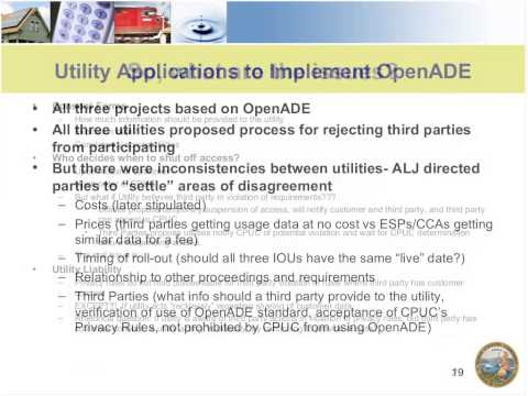 Cybersecurity and Data Privacy - Smart Grid Educational Webinar Series from May 28, 2013