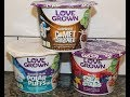 Love Grown Cereal: Chocolate Comet Crispies, Blueberry Vanilla Polar Puffs, Fruity Sea Stars Review