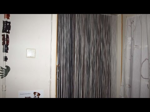 How To Make An Easy Cheap Fly Curtain - DIY Home Tutorial - Guidecentral