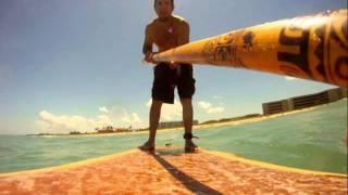 Hollow Wood Sup Sess. 2 Tiger Shores Gopro Surf Cam .wmv