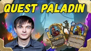 Kolento tries Quest paladin deck in Legend (Kobolds and catacombs)