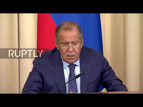 Russia: Lavrov hopes nuclear 'hotheads have cooled'; slams US' Venezuela intervention threats