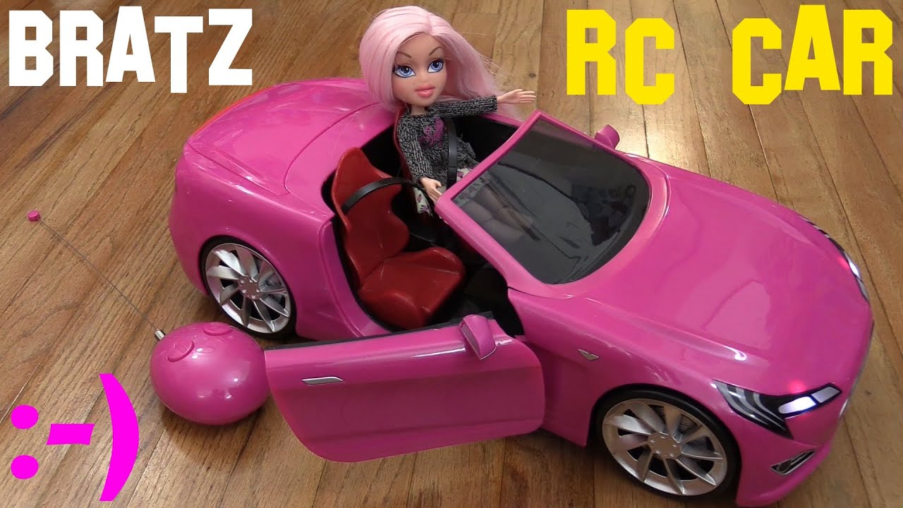 Toys for Little Girls Pink BRATZ Remote Control Car and Toy Doll