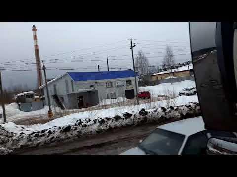 Омутнинск. Асфальт растаял)