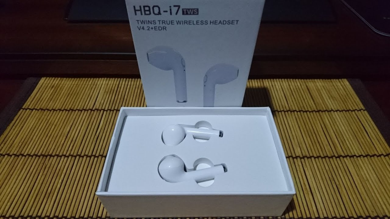 4fcd837dd5c Review: Proze HBQ-i7 TWS Auriculares Inalámbricos Bluetooth In-Ear Airpods