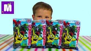 Трансформеры пакетики с игрушкой сюрприз распаковка Transformes blind bags with toys unboxing
