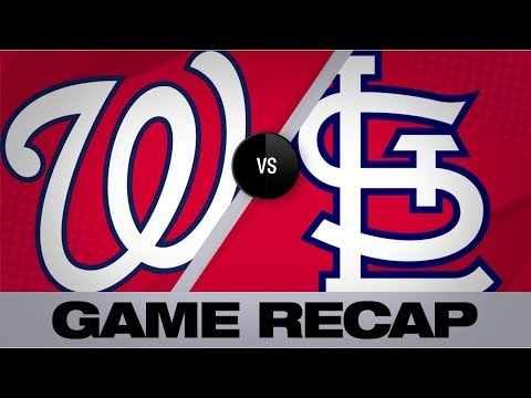Corbin, Robles lead Nationals past Cards | Nationals-Cardinals Game Highlights 9/17/19