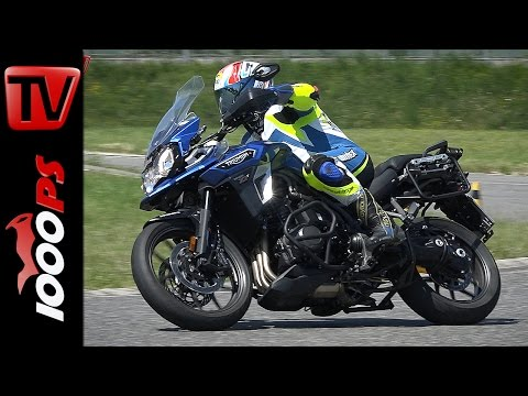 Triumph Tiger XRT Test 2016 | Big Enduro Melken