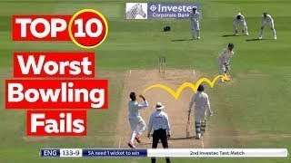 Funniest Bowling Fails In Cricket History