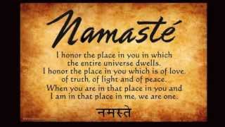 "Namaste - The Divine Spark of Peace - ""Devotion of Love"""