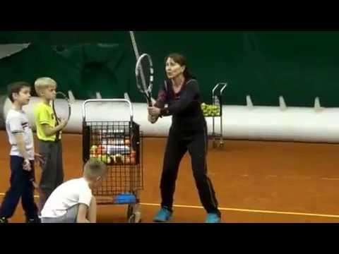 Тренировка О. В. Кузьминой по программе Tennis 10s 27.02.2017