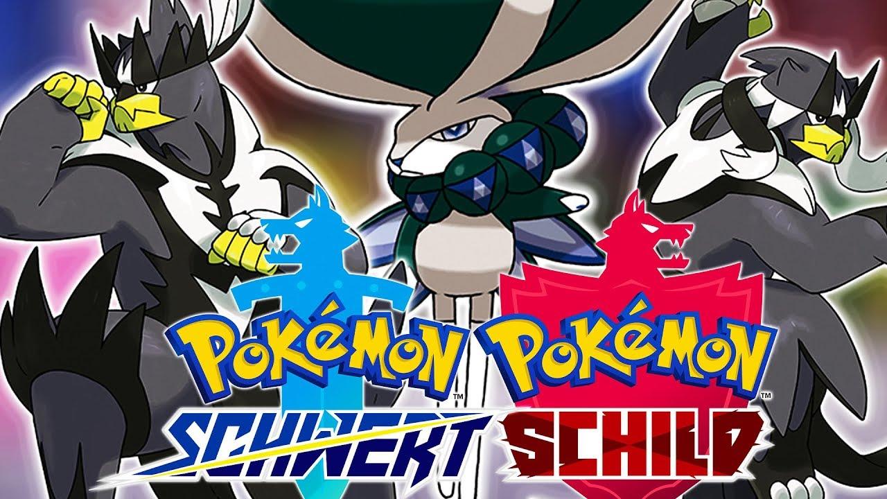 Pokemon Schild Alle Pokemon