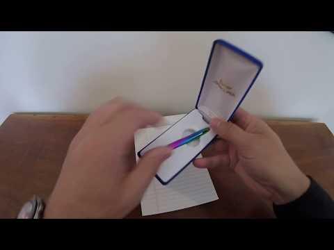 Fisher Bullet Space Pen With Zebra Gel G-301 Refill Hack.