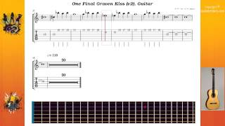 One Final Graven Kiss (v2) - Cradle Of Filth - Guitar