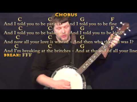 Banjo banjo chords mumford and sons : Skinny Love (Bon Ivers) Banjo Cover Lesson with Chords/Lyrics ...