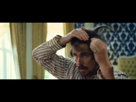 American Hustle Christian Bale Comb-Over Hair Scene