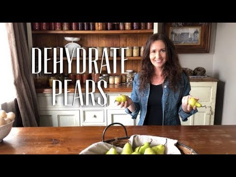 How to Dehydrate Delicious Pears