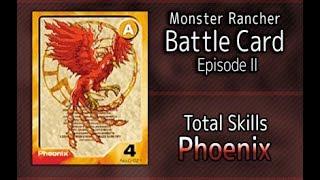 Monster Rancher Battle Card Episode II - The skills of Phoenix