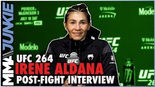 Irene Aldana: Weight miss was 'honest mistake,' reacts to TKO
