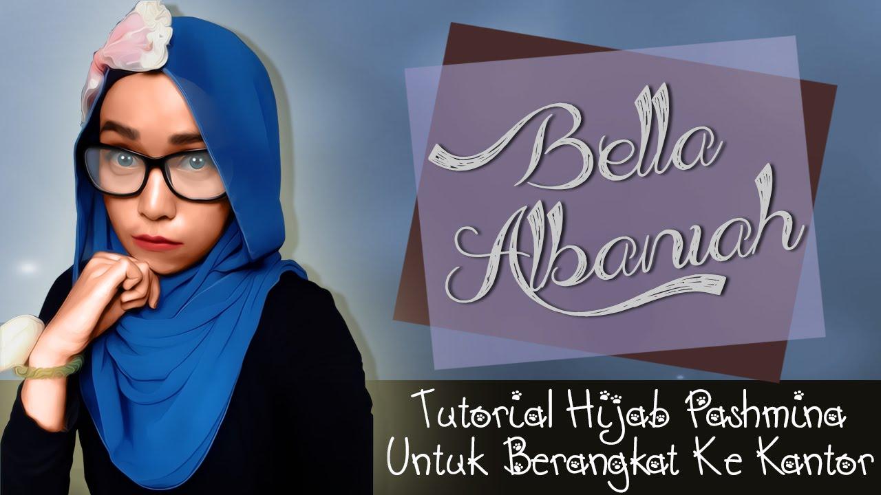 Tutorial Hijab Pashmina Untuk Ke Kantor Terbaru 2016 YouTube