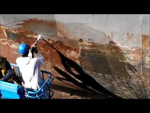 Torbo Abrasive Water Blasting - Ship Repairs (Mavico)