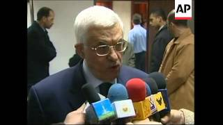 Abbas reacts to Hamas decision to participate in elections