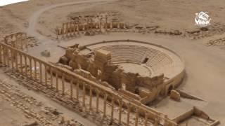 Видео новых разрушений древней Пальмиры  Минобороны России
