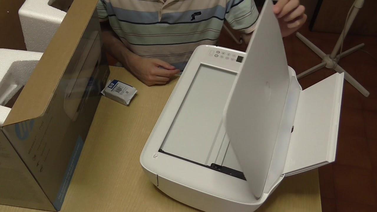 Ho comprato una stampante nuova HP 3636 a 34.99 euro - YouTube