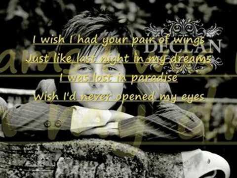Declan Galbraith - An Angel Lyrics