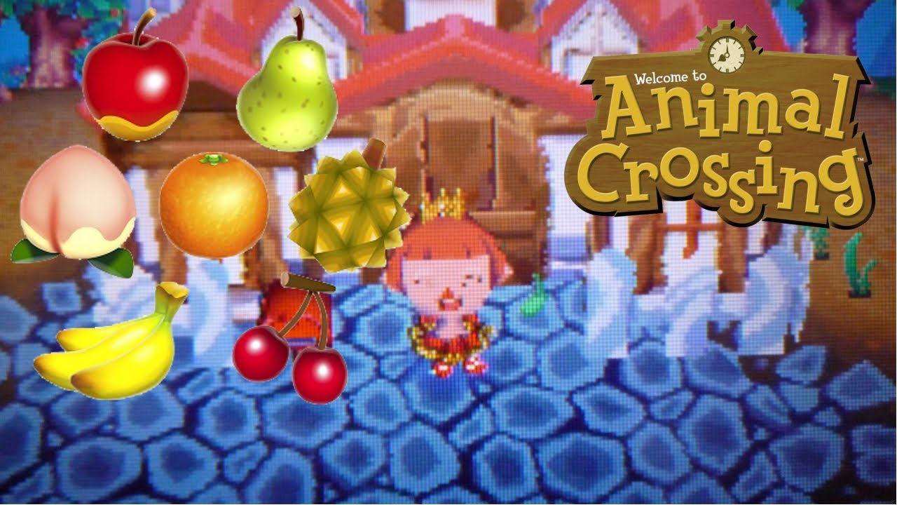 frutas en Animal crossing