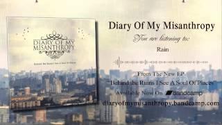 Diary Of My Misanthropy - Rain