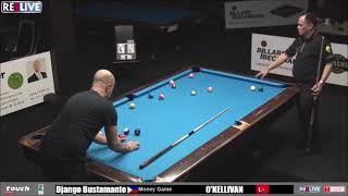 Money Game DJANGO Bustamante vs O'KELLIVAN at German Pool Masters 2018